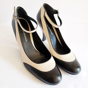 LIKE NEW Enzo Angiolini Ankle Strap Heels 8.5M